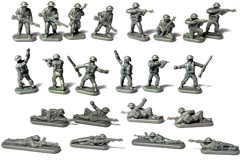 British Infantry & Heavy Weapons (Late War) 1:144th scale