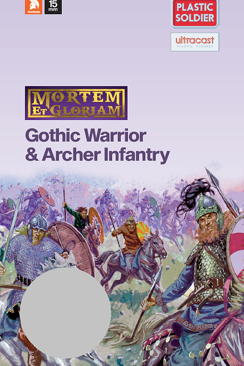 15mm Gothic Warrior & Archers Booster Pack