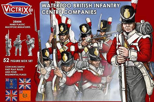 BRITISH WATERLOO CENTRE COMPANY INFANTRY