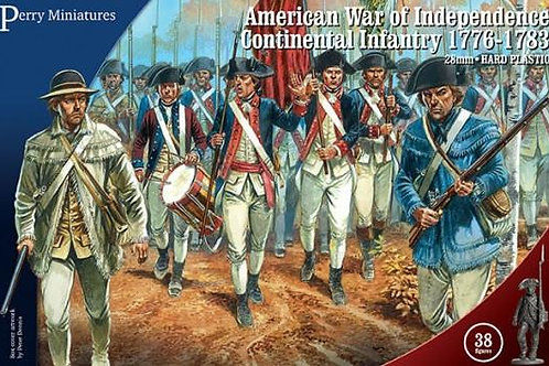 AMERICAN WAR OF INDEPENDENCE - CONTINENTAL INFANTRY 1776-1783