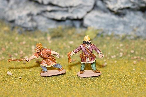 15mm Late Saxon Slingers