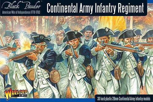 AMERICAN WAR OF INDEPENDENCE - CONTINENTAL INFANTRY REGIMENT