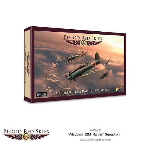 Mitsubishi J2M 'Raiden' Squadron - Blood Red Skies