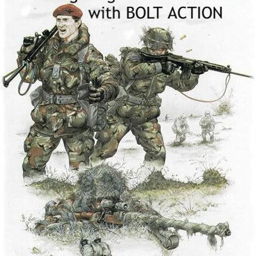The Falklands War - BOLT ACTION amendments for 10mm modern wargames