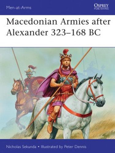 Macedonian Armies after Alexander 323 -168BC