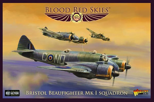 Bristol Beaufighter Squadron - Blood Red Skies