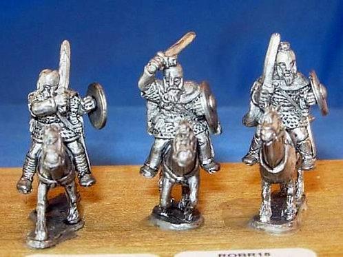 15mm Romano-British Heavy Cavalry (with swords & barded horses)