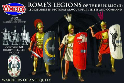 REPUBLICAN ROMANS WITH PECTORAL ARMOUR PLUS VELITES