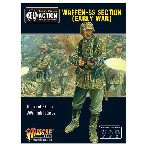EARLY WAR WAFFEN SS SQUAD (1939-42)