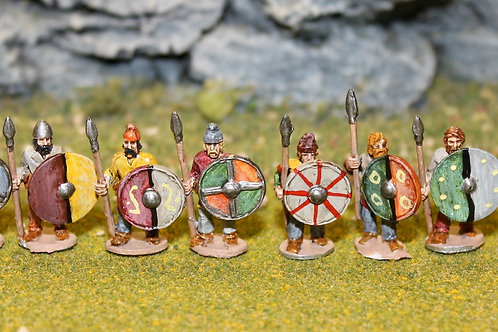 15mm Late Saxon Fyrd (Standing)