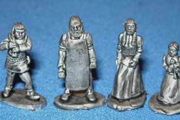15mm Villagers