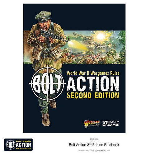 BOLT ACTION: 2ND EDITION RULE BOOK