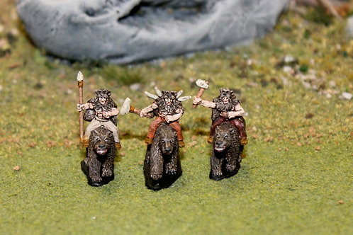 Bear Clan Cavalry on Bears