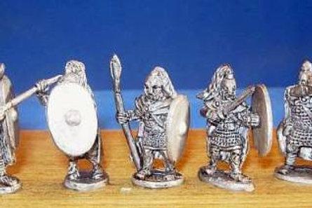 15mm Roman-British Wolftail Heavy Infantry