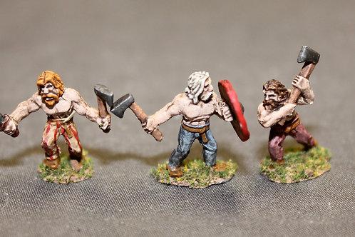 15mm Viking Berserkers