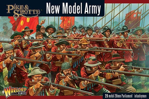 NEW MODEL ARMY - INFANTRY REGIMENT