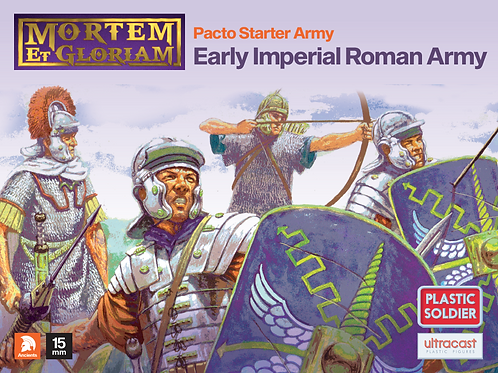 15mm Early Imperial Roman Army Pack (Mortem et Gloriam)
