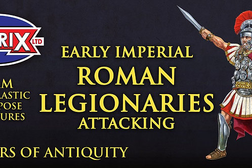 EARLY IMPERIAL ROME LEGIONARIES - ATTACKING