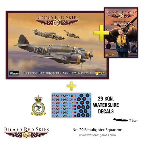 No.29 Beaufighter Squadron - Blood Red Skies