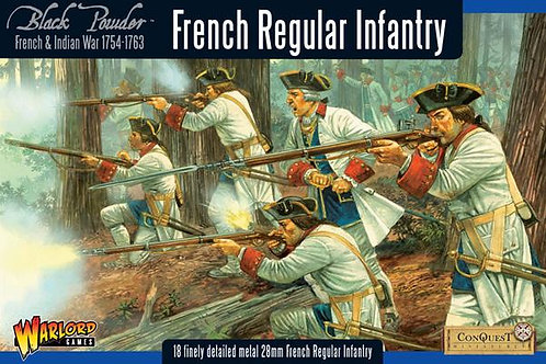 FRENCH INDIAN WAR - FRENCH REGULAR INFANTRY