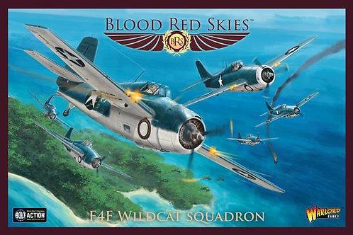 F4F Wildcat Squadron - Blood Red Skies