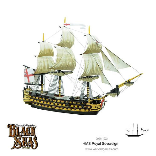 HMS Royal Sovereign - Black Seas