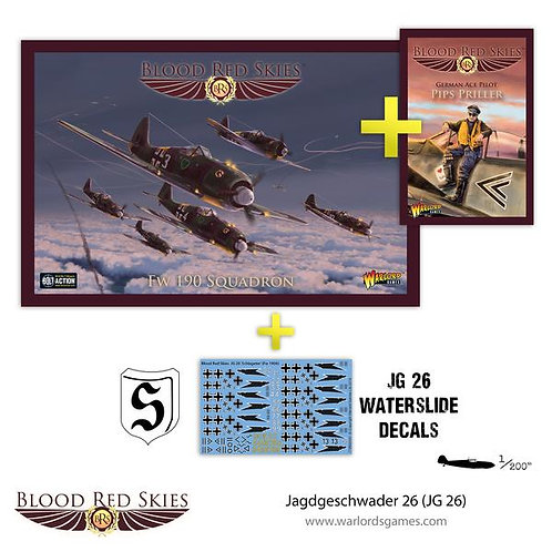 Jagdgeschwader 26 (JG26) - Blood Red Skies