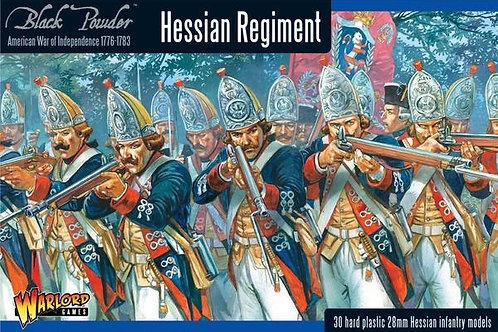 AMERICAN WAR OF INDEPENDENCE - HESSIAN REGIMENT