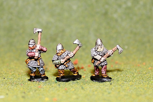 15mm Viking Huscarls with Axes