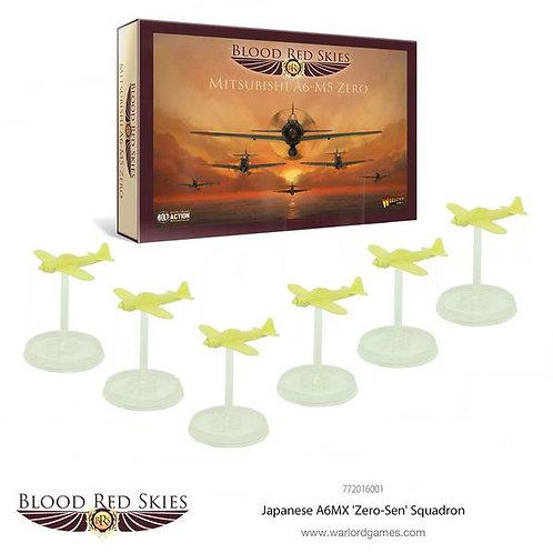 Japanese A6MX 'Zero-Sen' - Blood Red Skies