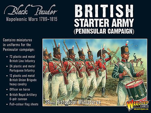 BRITISH STARTER ARMY - PENINSULAR CAMPAIGN