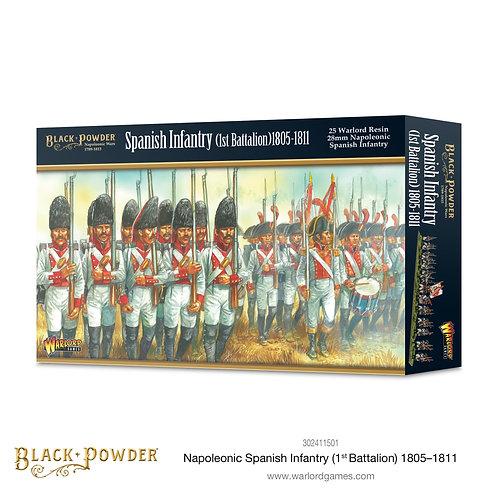 Spanish Infantry - 1st Battalion 1805-11