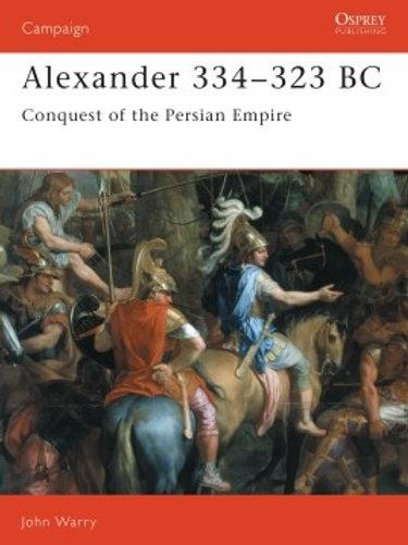 Alexander 334 - 323BC