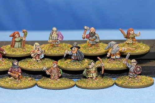 Halflings and Gnome Adventurers