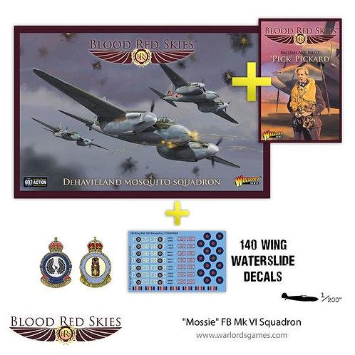 Mossie FB Mk VI Squadron - Blood Red Skies