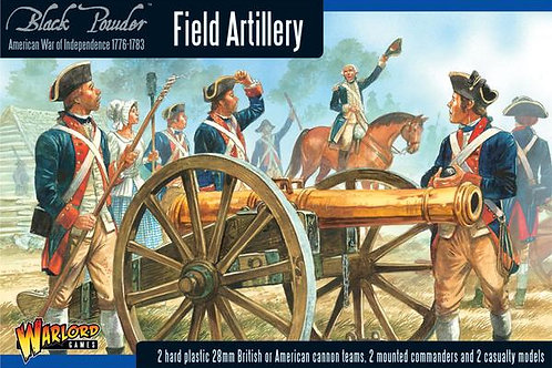 AMERICAN WAR OF INDEPENDENCE - FIELD ARTILLERY & ARMY COMMANDERS
