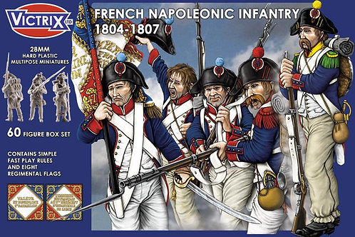 FRENCH LINE INFANTRY 1804-1807