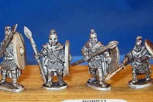 15mm Romano-British Heavy Infantry (with spears & crested helmets)