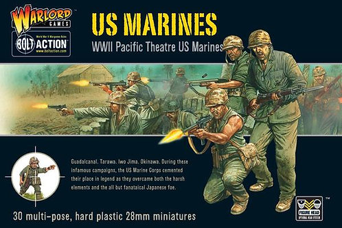 US MARINES (PLASTIC BOX SET)
