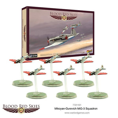 Mikoyan-Gurevich MiG-3 Squadron - Blood Red Skies