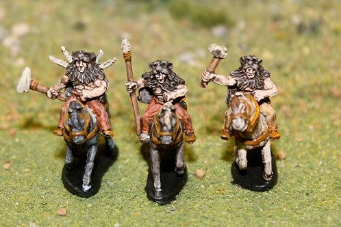 Bear Clan Cavalry on Horses