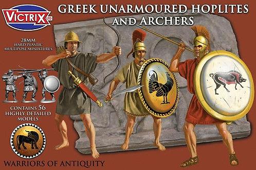GREEK UNARMOURED HOPLITES & ARCHERS