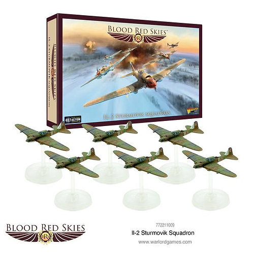 Il-2 Sturmovik Squadron - Blood Red Skies