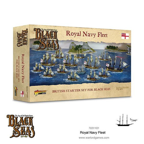 Royal Navy Fleet (1770-1830) - Black Seas