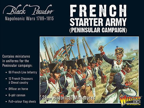 FRENCH STARTER ARMY - PENINSULAR CAMPAIGN