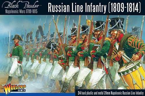 RUSSIAN LINE INFANTRY 1808-1814