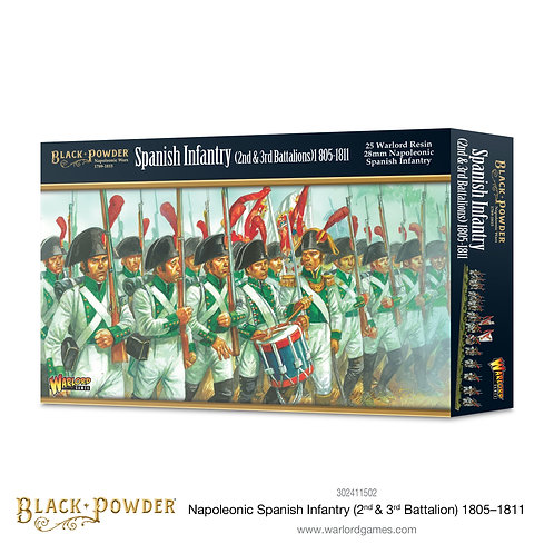 Spanish Infantry (2nd & 3rd Battalions) 1805-11