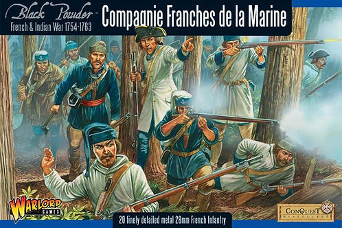 FRENCH INDIAN WAR - FRENCH COMPAGNIE DE LA MARINE