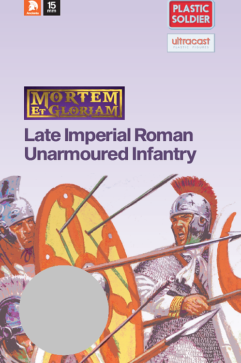 15mm Late Imperial Roman Unarmoured Infantry Booster Pack