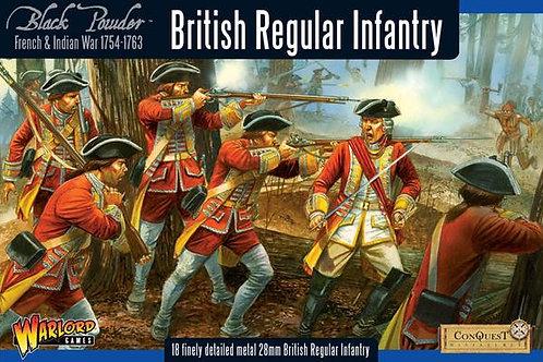 FRENCH INDIAN WAR - BRITISH REGULAR INFANTRY